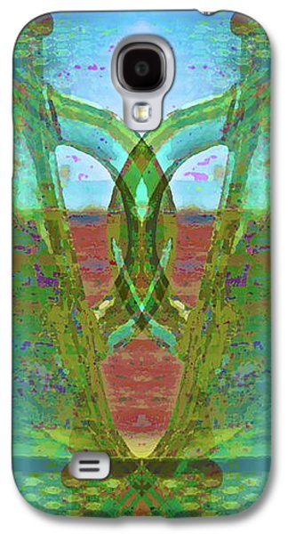 Abstract Forms Galaxy S4 Cases - True Form Galaxy S4 Case by Gwyn Newcombe