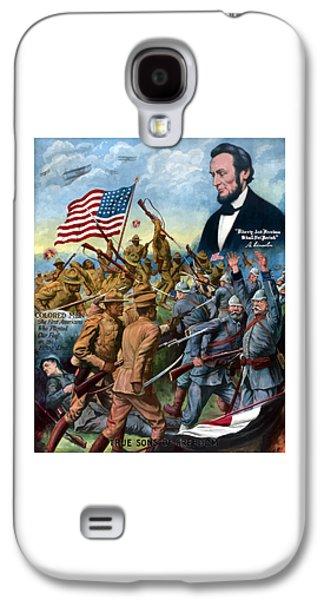 True Sons Of Freedom -- Ww1 Propaganda Galaxy S4 Case by War Is Hell Store