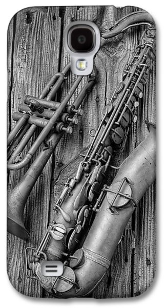 Trumpet And Sax Galaxy S4 Case by Garry Gay