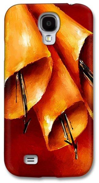 Trumpets Galaxy S4 Case by Brenda Bryant