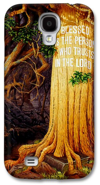 Trust In The Lord Galaxy S4 Case by Graham Braddock