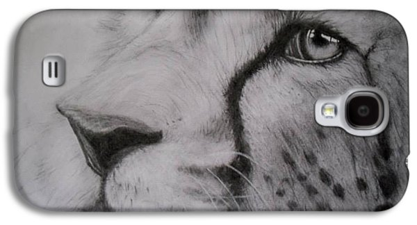 Cheetah Drawings Galaxy S4 Cases - Trust Galaxy S4 Case by Katlyn Collins