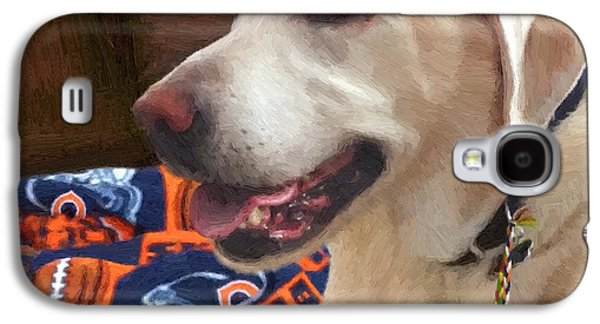 Dogs Digital Art Galaxy S4 Cases - Tucker Galaxy S4 Case by Doug Kreuger