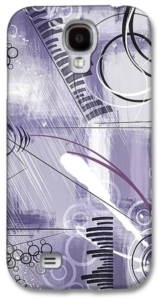 Abstract Digital Mixed Media Galaxy S4 Cases - Tuesday Galaxy S4 Case by Melissa Smith