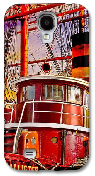 Evening Digital Galaxy S4 Cases - Tugboat Helen McAllister Galaxy S4 Case by Chris Lord