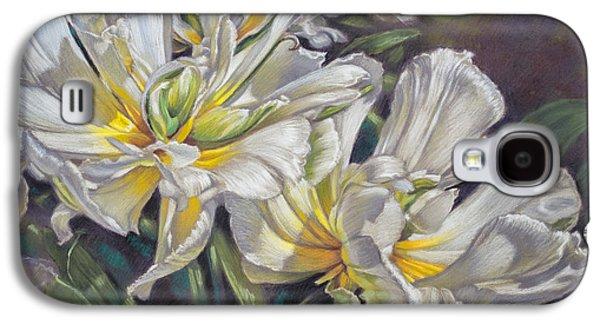 Universities Pastels Galaxy S4 Cases - Tulipomania 4 Exotic Emperor Galaxy S4 Case by Fiona Craig