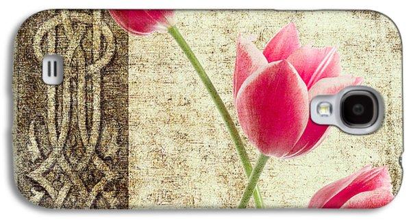Tulips Vintage  Galaxy S4 Case by Mark Ashkenazi