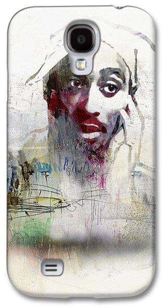 Tupac Graffitti 2656 Galaxy S4 Case by Jani Heinonen
