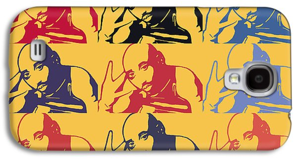 Tupac Shakur Graffiti In Andy Warhol Style Galaxy S4 Case by Toppart Sweden