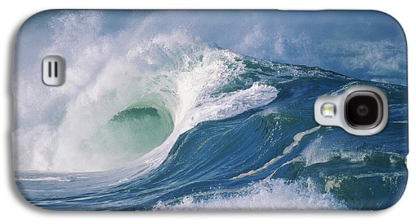 Turbulent Skies Galaxy S4 Cases - Turbulent Shorebreak Galaxy S4 Case by Vince Cavataio - Printscapes