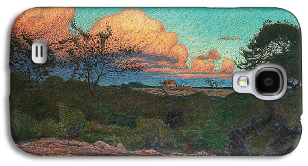 Turbulent Sky Galaxy S4 Case by Nils Kreuger