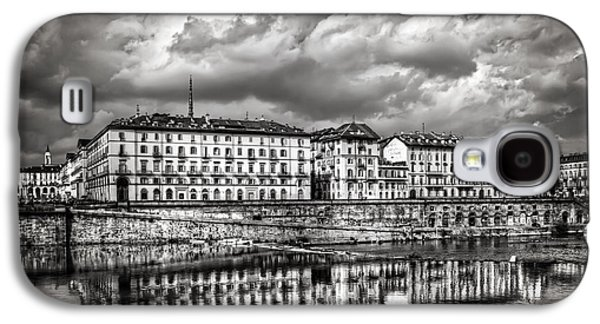 Surreal Landscape Galaxy S4 Cases - Turin Shrouded in Cloud Galaxy S4 Case by Carol Japp