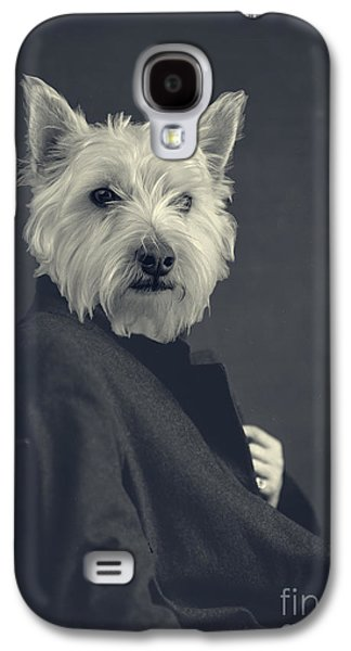 Canines Digital Galaxy S4 Cases - Turn of the Century Galaxy S4 Case by Edward Fielding