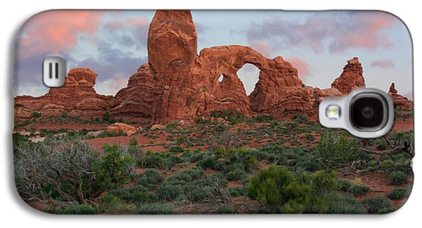 Light Galaxy S4 Cases - Turret Arch Galaxy S4 Case by Aaron Spong