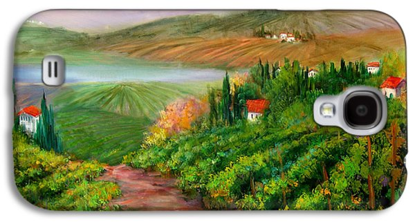 Tuscan Vista Galaxy S4 Case by Sally Seago