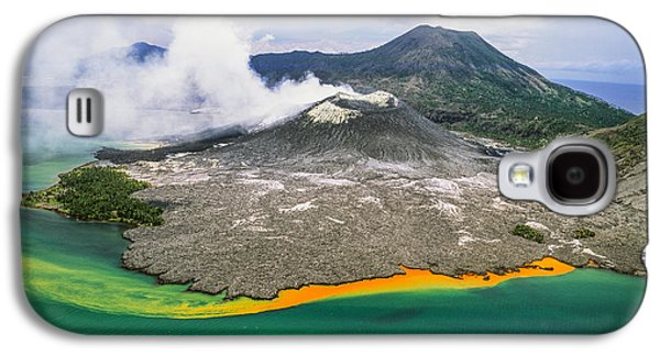 New Britain Galaxy S4 Cases - Tuvuavur Volcano  Rabaul, East New Galaxy S4 Case by David Kirkland