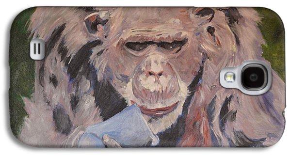 Twiggy Galaxy S4 Cases - Twiggy Galaxy S4 Case by Barbara Moak