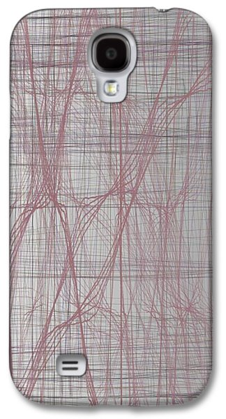 Twiggy Galaxy S4 Cases - Twiggy Structure 9-1-2015 #1 Galaxy S4 Case by Steven Harry Markowitz