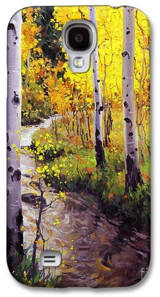 Twilight Glow Over Aspen Galaxy S4 Case by Gary Kim