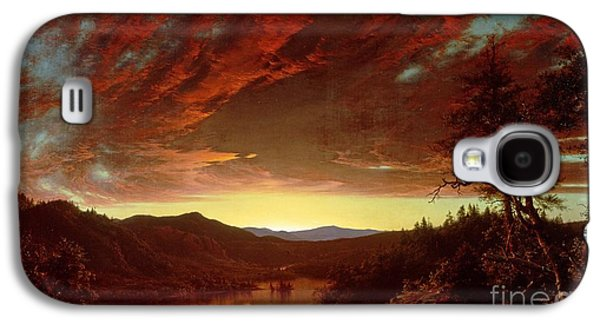 Twilight In The Wilderness Galaxy S4 Case by Frederic Edwin Church