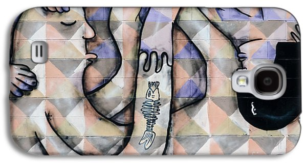 Slam Galaxy S4 Cases - Twisted Love mural Galaxy S4 Case by Yurix Sardinelly