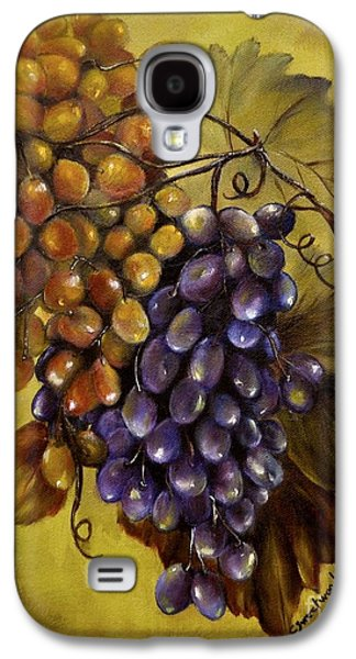 Concord Grapes Galaxy S4 Cases - Two choices Galaxy S4 Case by Carol Sweetwood