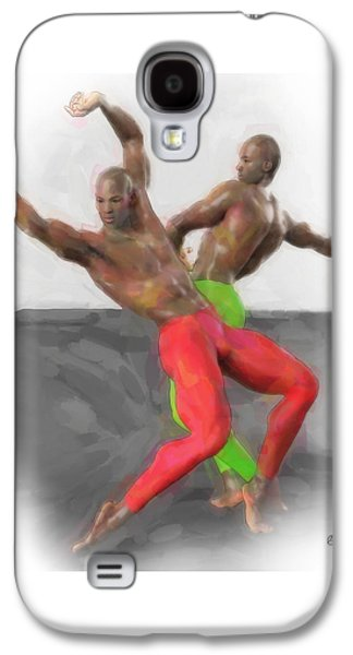 Two Classic Dancers Galaxy S4 Case by Quim Abella