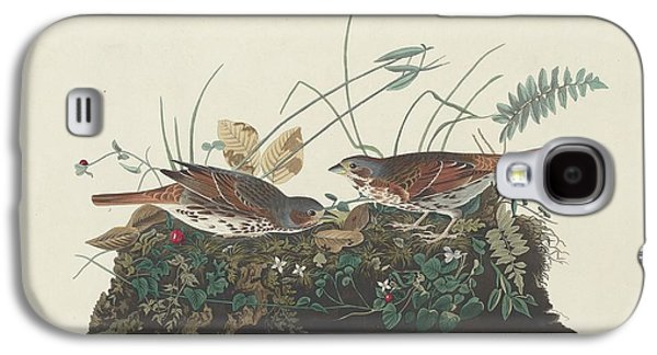 Two-colored Sparrow Galaxy S4 Case by John James Audubon