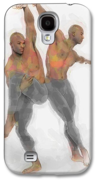 Two Dancers Galaxy S4 Case by Quim Abella