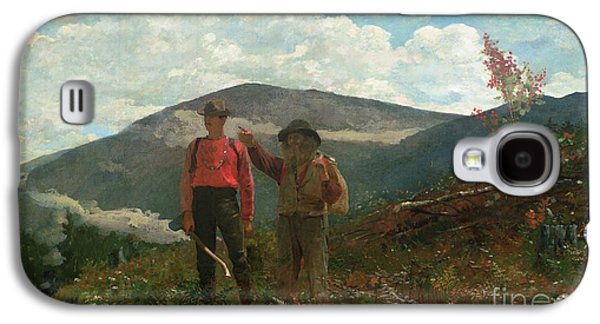 Two Guides Galaxy S4 Case by Winslow Homer