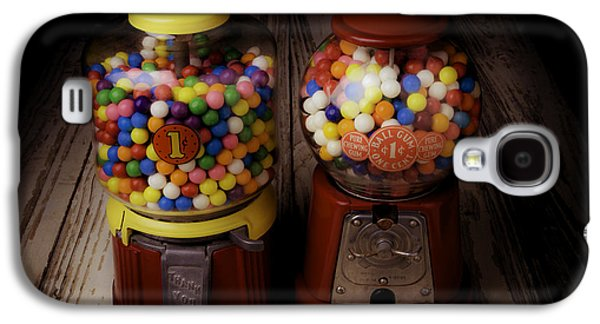 Two Gumball Machines Galaxy S4 Case by Garry Gay