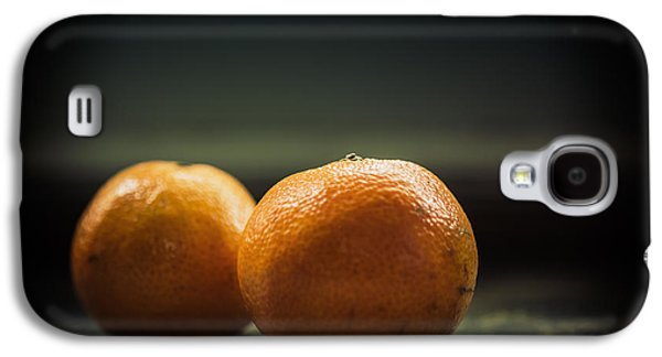 Tangerines Galaxy S4 Cases - Two Oranges Galaxy S4 Case by Yo Pedro