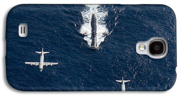 Two P-3 Orion Maritime Surveillance Galaxy S4 Case by Stocktrek Images