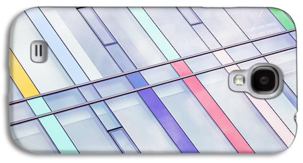 Abstracted Galaxy S4 Cases - UBC Stripes Abstract Galaxy S4 Case by Chris Dutton