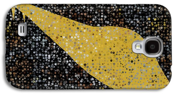 Abstract Digital Tapestries - Textiles Galaxy S4 Cases - Ufo Galaxy S4 Case by Suzi Freeman