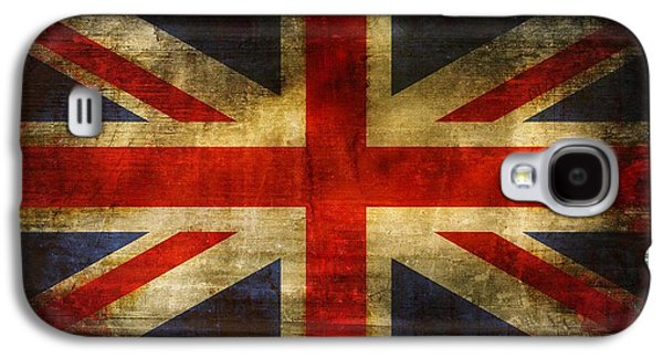 Recently Sold -  - Surreal Landscape Galaxy S4 Cases - UK Flag Galaxy S4 Case by Brett Pfister