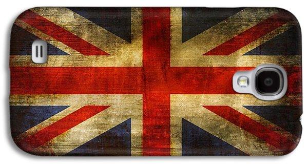 Uk Flag Galaxy S4 Case by Brett Pfister