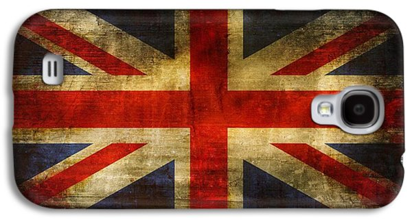 Uk Flag Galaxy S4 Case by Brett Pfister