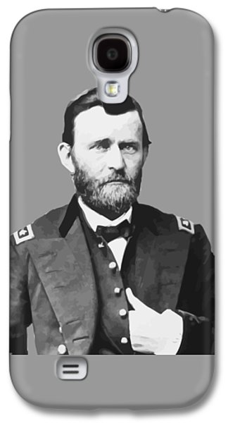 U.s Army Galaxy S4 Cases - Ulysses S Grant Galaxy S4 Case by War Is Hell Store