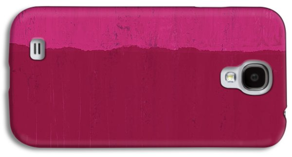 Undaunted Pink 2- Art By Linda Woods Galaxy S4 Case by Linda Woods