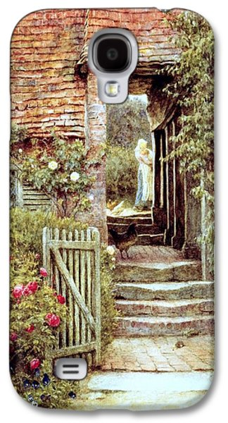 Under The Old Malthouse Hambledon Surrey Galaxy S4 Case by Helen Allingham