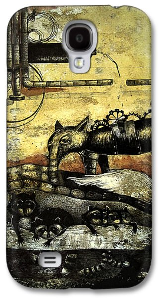 Mechanism Galaxy S4 Cases - Underground Galaxy S4 Case by Bocaniciu Otilia