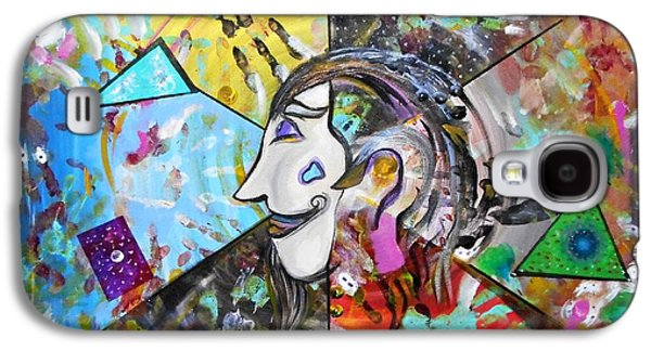Normal Paintings Galaxy S4 Cases - Understanding Dali Galaxy S4 Case by Michael Braun