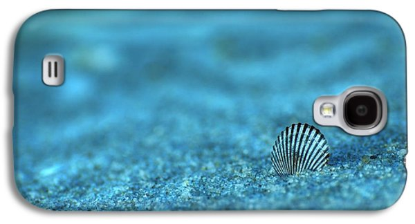Seashell Digital Art Galaxy S4 Cases - Underwater Seashell - Jersey Shore Galaxy S4 Case by Angie Tirado
