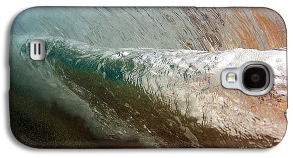 Undersea Photography Galaxy S4 Cases - Underwater View Of A Breaking Wave Galaxy S4 Case by Vince Cavataio