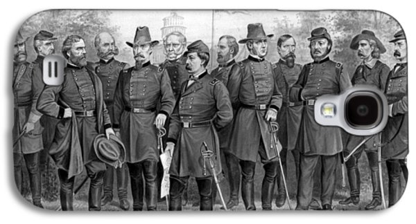 American History Galaxy S4 Cases - Union Generals of The Civil War  Galaxy S4 Case by War Is Hell Store