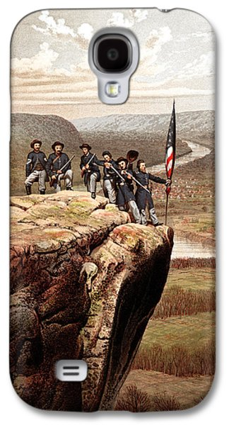 American History Galaxy S4 Cases - Union Soldiers On Lookout Mountain Galaxy S4 Case by War Is Hell Store