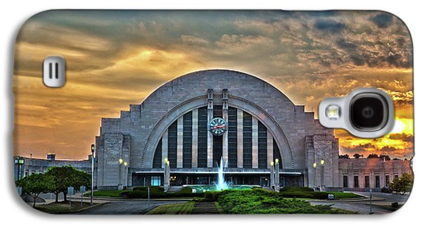 Terminal Photographs Galaxy S4 Cases - Union Terminal at Sunset Galaxy S4 Case by Keith Allen