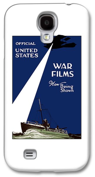 Historic Ship Galaxy S4 Cases - United States War Films Now Being Shown Galaxy S4 Case by War Is Hell Store