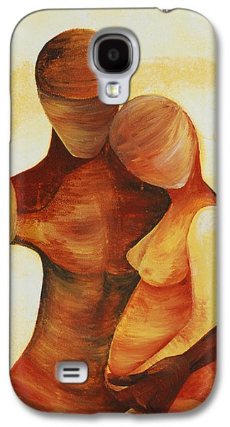 Unity Paintings Galaxy S4 Cases - Unity Galaxy S4 Case by Catt Kyriacou